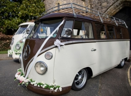 Campervan wedding hire in Brighton